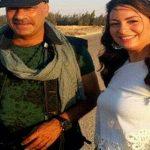 محمد سعد ونيرمين الفقى فى تحت الترابيزة