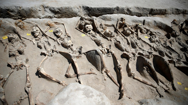 مقبرة لانقلابيين قبل الميلاد