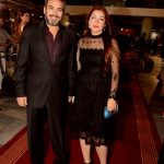 احمد عبد العزيز وزوجته