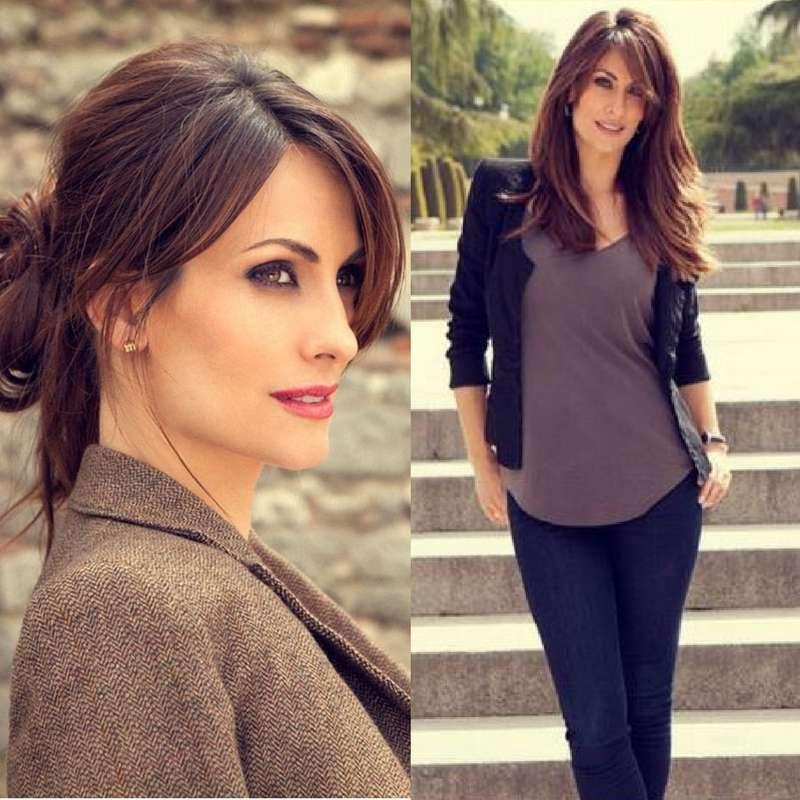 الممثلة وعارضة الإسبانية ناجورى أرانبورو، زوجة تشابى ألونسو مدافع نادى بايرن ميونخ وأم لأولاده الثلاثة