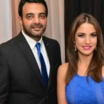 درة وعمرو ياسين في حفل زفاف حنان مطاوع وأمير اليماني