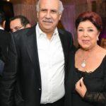 رجاء الجداوي في حفل زفاف حنان مطاوع
