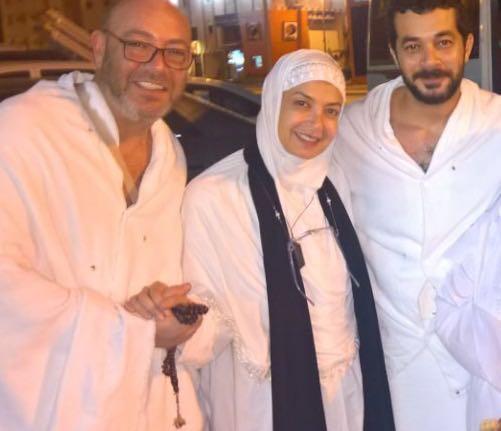 عادل أديب ومنال سلامة وشريف سلامة وداليا مصطفى