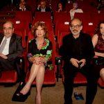 غسان مسعود ودريد لحام وزوجتيهما