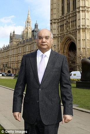 كيث فاز امام البرلمان