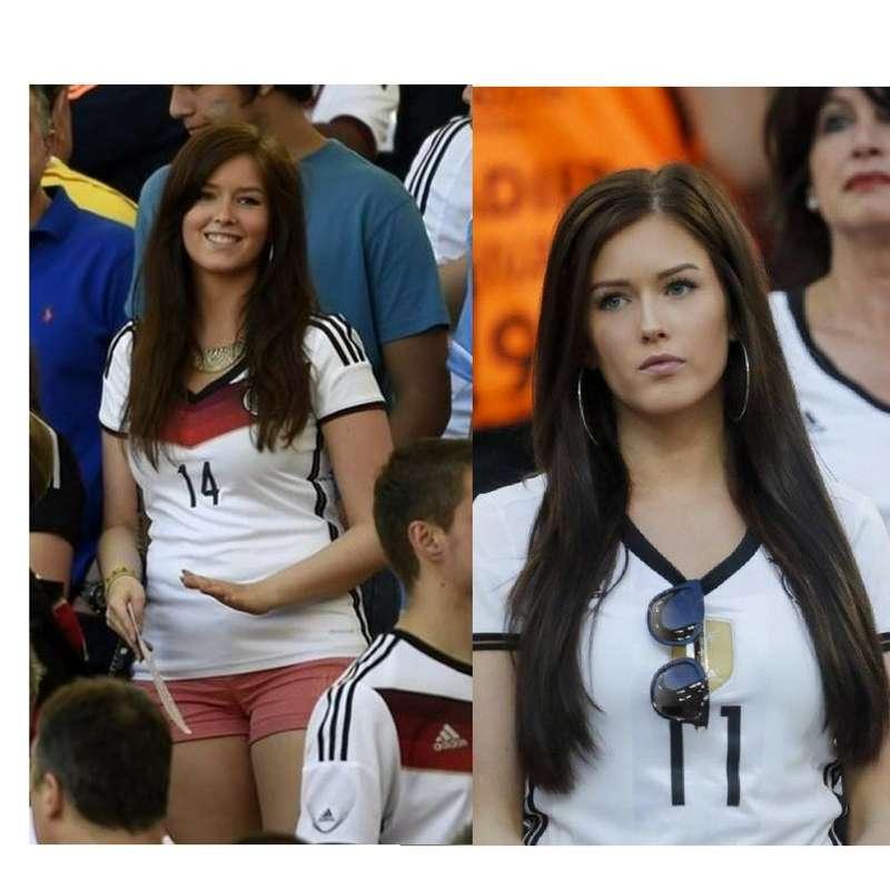 لينا ستيفل صديقة الألمانى يوليان دراكسلر لاعب وسط فولفسبورج