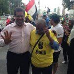 محمد شوبير ينظم مظتهرات ضد السيسى