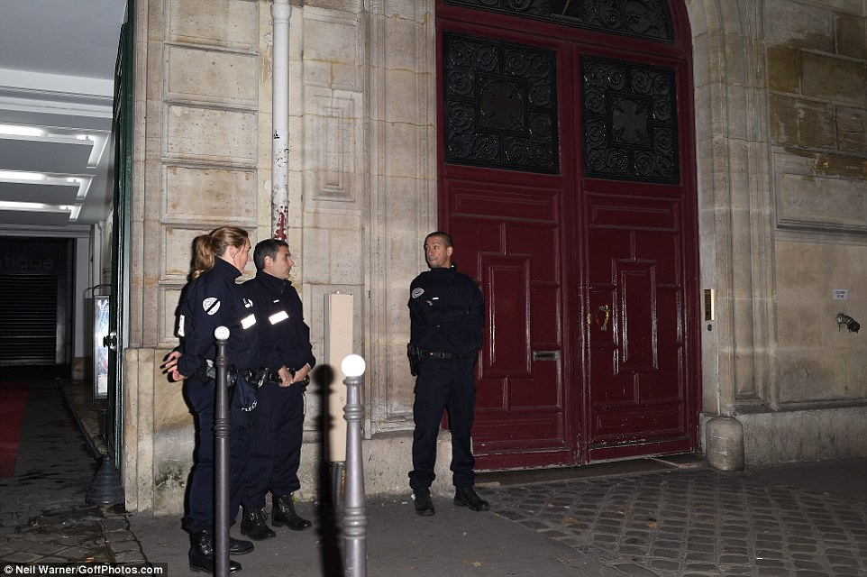 الشرطة الفرنسية عقب الحادث