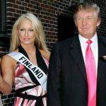 ترامب وملكة جمال فنلندا