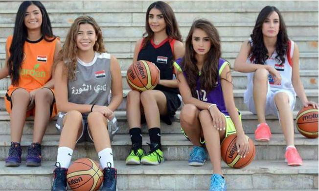 حملة ترويجية لدورى السلة للسيدات