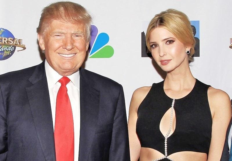 دونالد ترامب وابنته ايفانكا