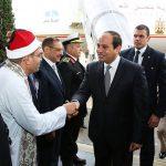 محمد شعراوى مع الرئيس السيسى