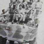 أحمد جمال أبوراس مع أبطال أكتوبر