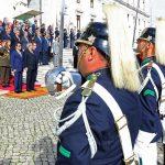 استقبال رسمى للسيسى بالبرلمان البرتغالى
