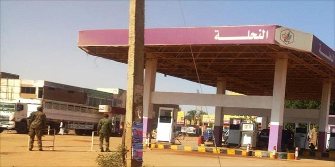 الجيش السودانى يؤمن محطات الوقود