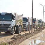الجيش يواصل احتواء ازمة السيول