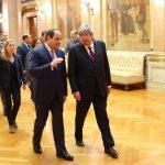 السيسى داخل البرلمان البرتغالى
