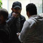 انهيار الفنانين فى وداع محمود عبد العزيز فى المستشفى