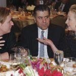 حاييم سابان بين هيلارى كلينتون وتسيبى ليفنى