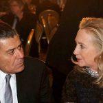 حاييم سابان مع هيلارى كلينتون