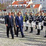 استقبال رسمى للسيسى فى البرلمان البرتغالى