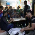 ملاهى تحت الارض فى سوريا