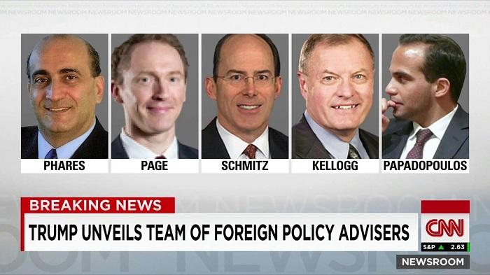 وليد يتصدر فريق مستشارى دونالد ترامب