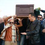 جنازة زوجة محمد صبحى